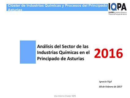 Portada Analisis Sector Industrias Quimic Asturias Cluster IQPA 2017 1